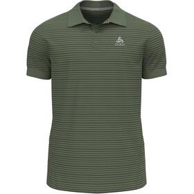 Odlo Nikko Dry Polo Shirt S/S Men, Oliva